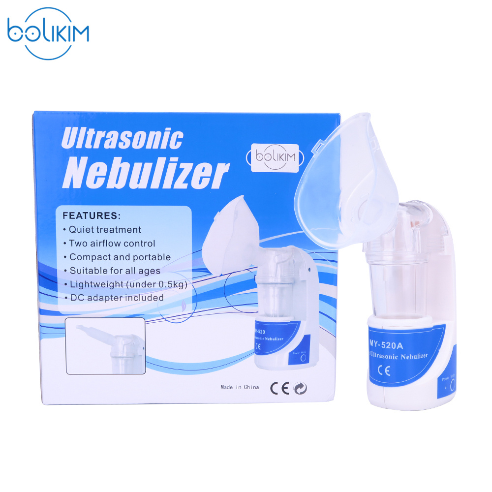 BOLIKIM 110V~240V Home care Asthma Inhaler portable automizer,children care inhale nebulizer Humidifier with EU /US /UK /AU Plug 110v 220v portable home health care atomizer beauty instrument children care inhale nebulizer humidifier