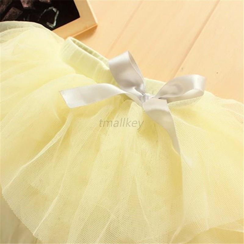 53adb4f701b93a Enfants fille princesse Tutu jupe Culottes Leggings gaze pantalon jupes de  fête avec nœud danse vêtements 0-3 ans 3 couleurs