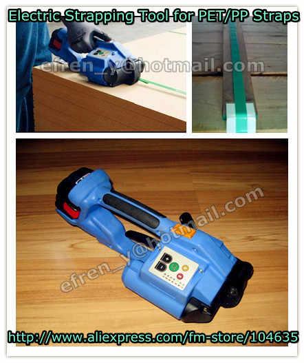 DD160 Handeld Пластик & ПП и ПЭТ ремень электрический обвязочные инструменты, Батарея работающая обвязочный инструмент для пластиковой для возраста от 12 до 16 мм