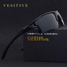 Nueva Marca de la Llegada Hombres Gafas de Sol de HD Polarizadas Cuadrado Negro Gafas Masculinas Gafas gafas De Sol Oculos V8514