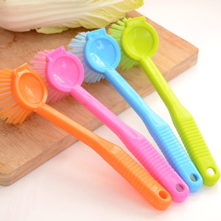 Pote del cepillo Cepillo de Herramienta Herramienta de la Cocina Tazón de Limpie