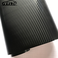 ORINO 1.52*20M(5FTX65FT) 6D Gloss Carbon Fiber Vinyl Wrap Car Wrapping Film With Air Free Bubbles 6D Carbon Vinyl Film