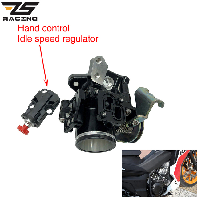 US $11 99 35% OFF|ZS Racing Motorcycle EFI Engine Manual Idle Speed  Regulator For HONDA Rs150 Rs150R Supra GTR150 Winner150-in Pumps from  Automobiles
