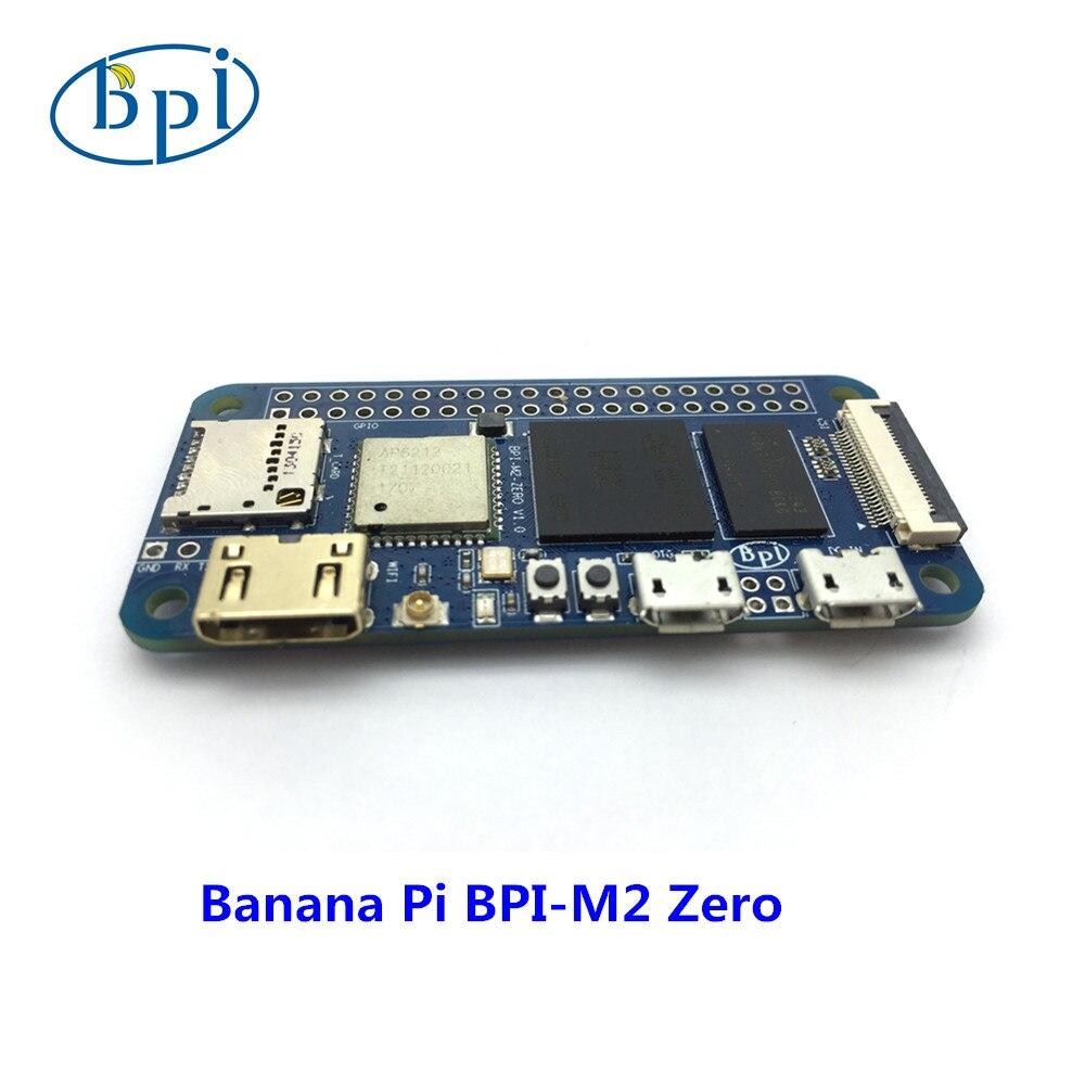 Allwinner H2 + Open source plate-forme matérielle BPI M2 zéro tous les ineter visage même comme Raspberry pi Zéro W