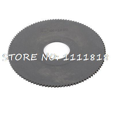 27mm Arbor Hole Dia. 2mm Thick 108 Teeth HSS Circular Slitting Saw  цены
