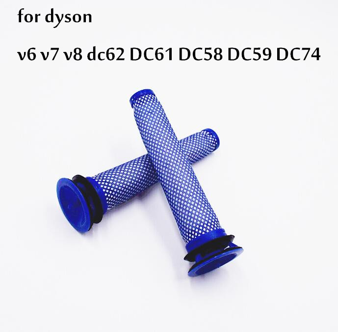 2*Filters Replaces for dyson v6 v7 v8 dc62 DC61 DC58 DC59 DC74 Vacuum Cleaner Filter Part # 965661-01 Fette Filter front pre motor allergy hepa filter for dyson dc58 dc59 dc61 dc62 dc74 v6 v7 v8 part 965661 01 replacement parts