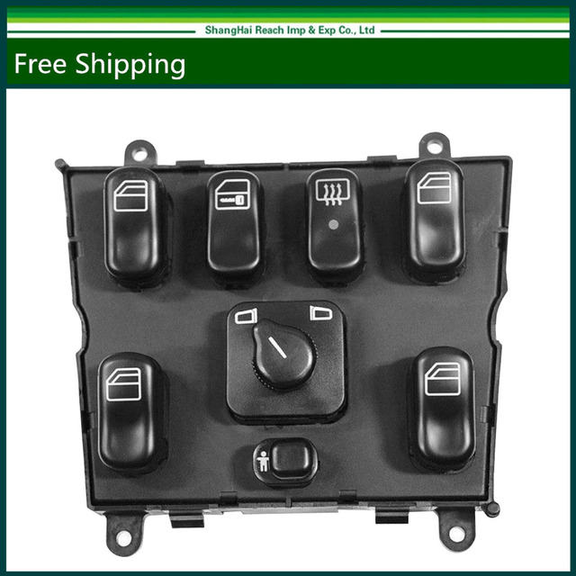 e2c New 1638206610 Hight quality New  Power Window  Switch For Mercedes Benz W163 ML320 ML430 ML500 ML55 AMG1998-2003