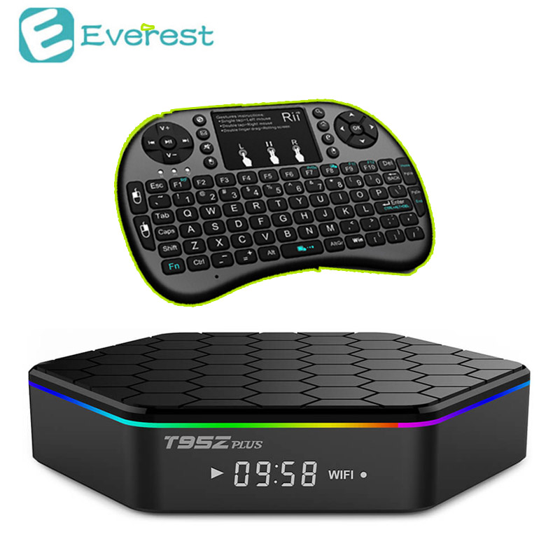 T95Z Plus mini pc t95z + Amlogic S912 tv box 2G 16G Octa-core Android6.0 kodi 17  media player Bluetooth 4K smart tv Set-Top Box 2016 android tv box t10 smart mini pc amlogic s805 quad core 1g 8g 4k media player 3d home movie wifi kodi 16 0 fully loaded