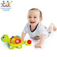 HUILE TOYS 868 Cha Mẹ Và Con Rùa Tương Tác B/O Động Vật Điện Câu Đố Rùa Đồ Chơi cho 6 M + Toddler Bò Đồ Chơi Trẻ Em