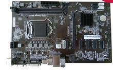 Новый в КОРОБКЕ 6 PCIE горнодобывающей материнские платы Красочные H81A-BTC V20 1150 DDR3 альтернативой для Biostar TB85 TB250 H81A H81S2 H61B TP61A)