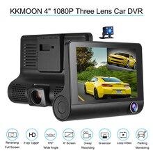 """KKMOON 4 """"1080 P Drei Objektiv Auto DVR Dash Cam Kamera Camcorder Nachtsicht/g-sensor/Bewegungserkennung/Loop-aufnahme"""