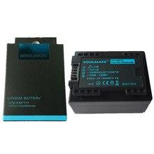 SOULMATL BP-718 BP718 lithium batteries pack BP-727 Digital Camera Battery BP727 For Canon VIXIA HF M50 M500 M52 R32 R300 HF R68