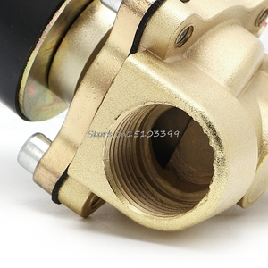 """Image 5 - 3/4 """"gás pneumático 2w 200 20 # h028 do ar do óleo da água do porto da válvula solenóide elétrica de 220v 2 #"""