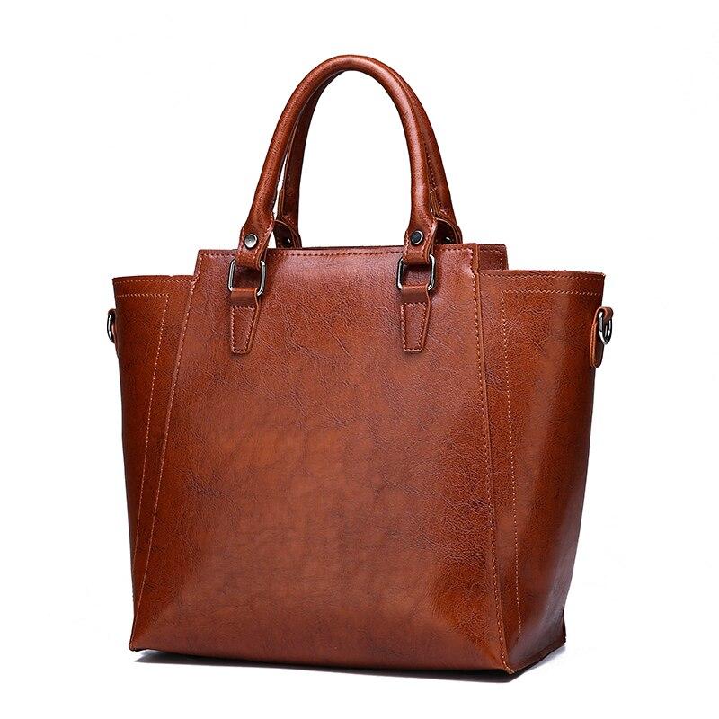 3 Sets Handbag Women Leather Tote Bags Women Handbags Shoulder Bag+ Crossbody Bag+Small Card Holder