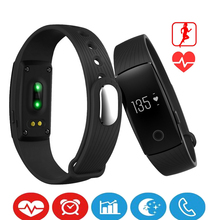 New Wearable Devices Smart Health Wristband Heart Rate Monitor Fitness Tracker Camera Remote Control Bracelet Smart Electronics