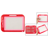 Affordable red pink plastic frame magnetic writing drawing board.jpg 200x200