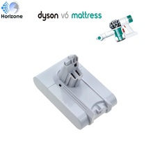 2200mAh Replacement Vacuum battery for Dyson V6 mattress white color HH07 HH08