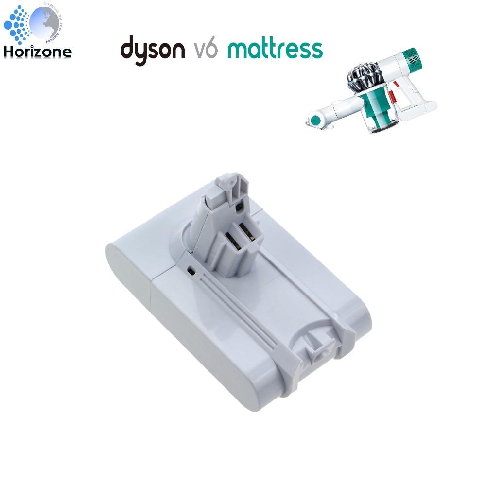 2200mAh Replacement Vacuum battery for Dyson V6 mattress white color HH07 HH08 пылесос dyson v6 plus