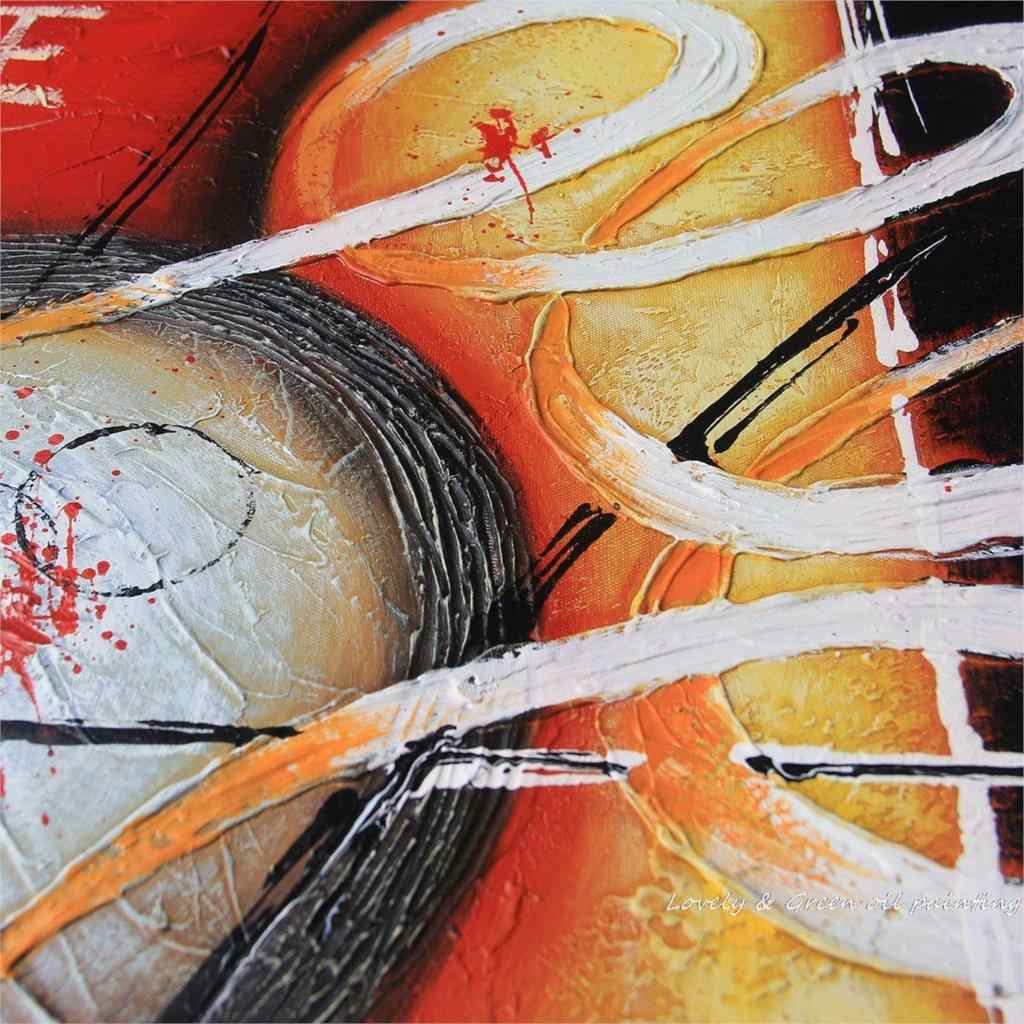 Free Shipping Thick Textured 100% Hand Painted Modern Abstract Oil Painting On Canvas Wall Art Pictures For Home Decoration
