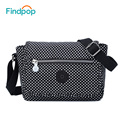 2017 Findpop Crossbody Bags For Women Ladies Handbags Waterproof Black Bag Bolsa Feminina Fashion Printed Women Messenger Bags