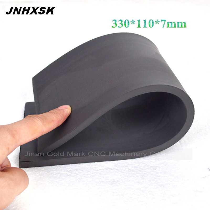 330*110*7mm  Flash Stamp Laser Rubber Sheet 1pcs For Laser Engraver Plate Materials Photosensitive Self Inking Stamp Marking