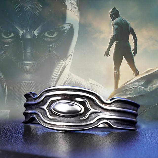 2018 New Wakanda King ring Wakanda T'Challa Black Panther Ring For men