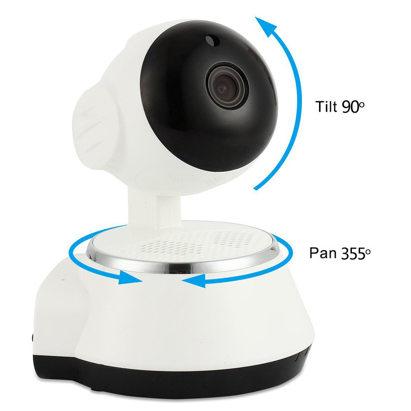 The Newest Wireless Home Security WiFi Baby Nanny Monitor Alarm IP Camera HD 720P Two Way Audio Infrarde HD Night VisionThe Newest Wireless Home Security WiFi Baby Nanny Monitor Alarm IP Camera HD 720P Two Way Audio Infrarde HD Night Vision