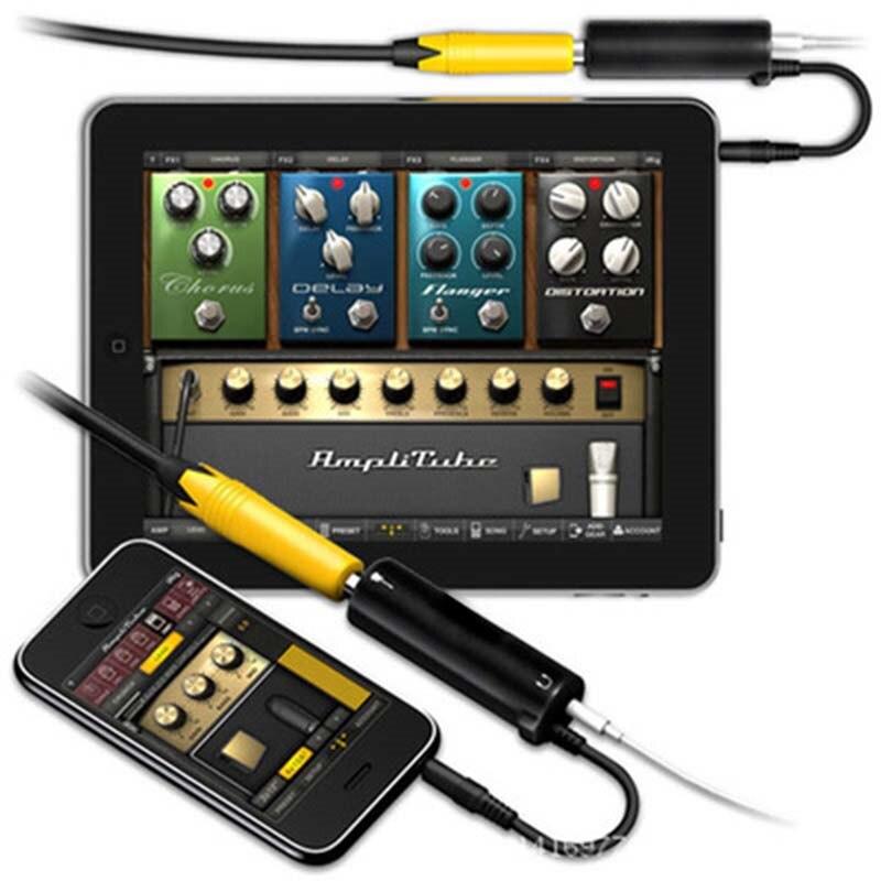 IRig guitare lien câble adaptateur AMP interface audio convertisseur guitare pédale effets tuner lien ligne guitare accessoires pour iPhone