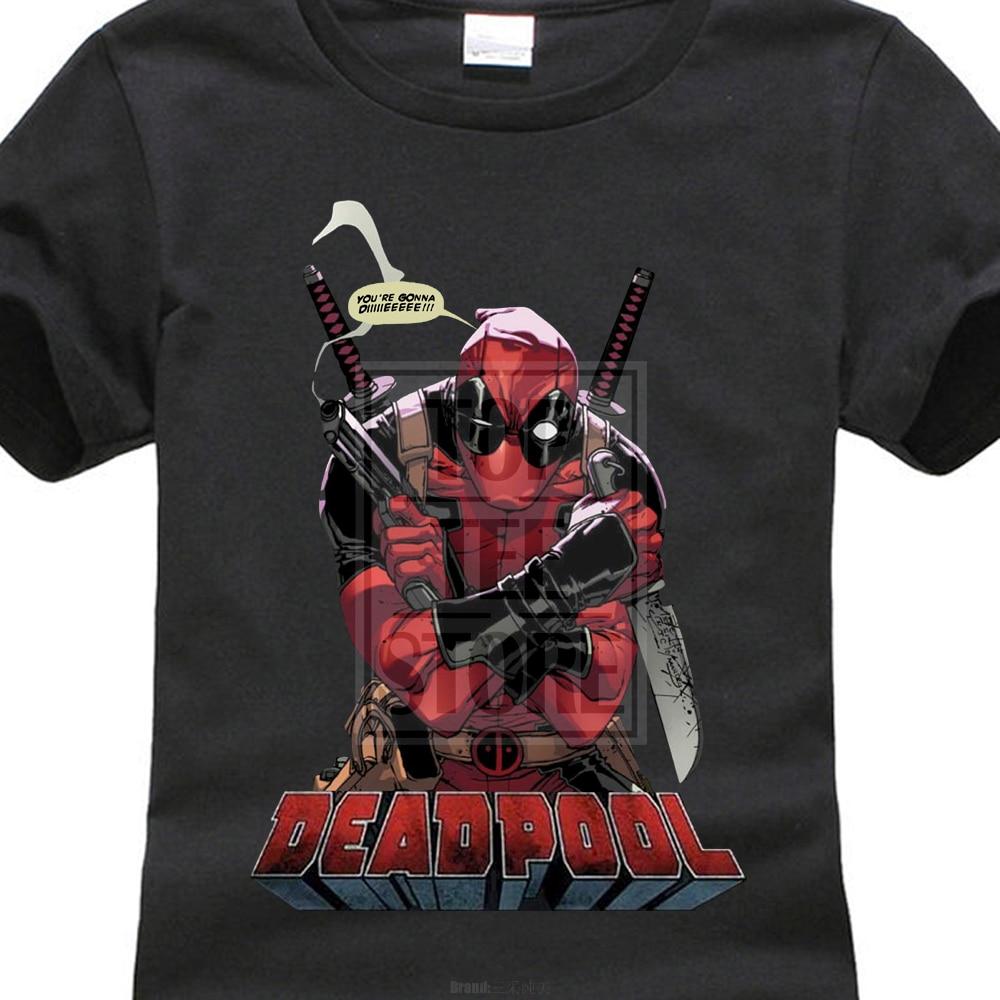Άνετο Μάρκα Γυναικών Marvel Comics Deadpool Gonna - Γυναικείος ρουχισμός - Φωτογραφία 1