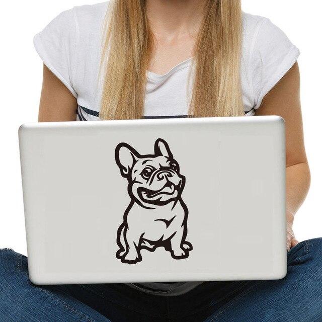 Buldog Francuski Naklejki ścienne Zwierzęta Winylu Klej Okna Laptop