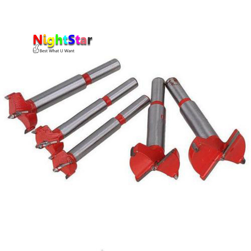 5pcs/set Drill Bits Professional 16/20/25/30/35 Mm Forstner Auger Drill Bits Set Woodworking Hole Saw Wooden Wood Cutter Drill