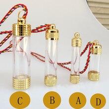 1 шт заполненные флаконы, заполненные фиалы, Reliquary поставки с ожерелье шнур(4 вида конструкций Aviailable