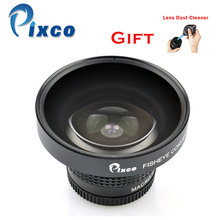 Promo offer Pixco 37mm 0.25X Super Fisheye Wide Angle Lens +with Rubber Air Blower Pump Dust Cleaner