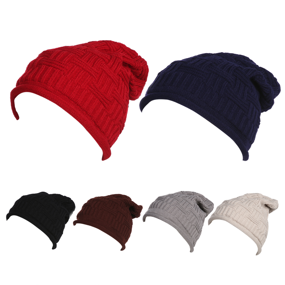 NEW Winter Hats Women Woolen Knitted Hat Beanie Crochet Warm Winter Hat Cap Wool Knitted Caps Free Shipping 2017 winter women beanie skullies men hiphop hats knitted hat baggy crochet cap bonnets femme en laine homme gorros de lana