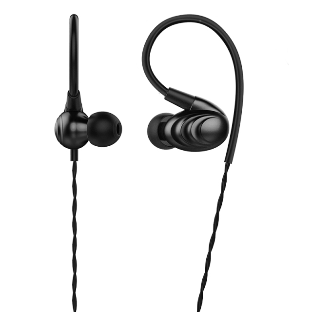 FiiO Metal Case Triple Driver Hybrid In-Ear HiFi Earphones/Headphone 3.5mm With Circle Iron Mixed F9SE Without Mic 2