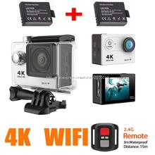 4 К 25fps sj wi-fi 7000 оригинал h9se 1080 P ultra hd mi yi ek pro video en спорт камеры go 4 видеокамеры hero h9 действие камеры cam