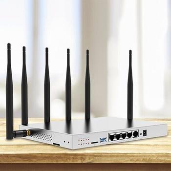 3G/4G lte Router WiFi tarjeta SIM móvil Punto de Acceso 11AC banda Dual con SATA 3,0 512 MB GSM Routers Gigabit módem WG3526