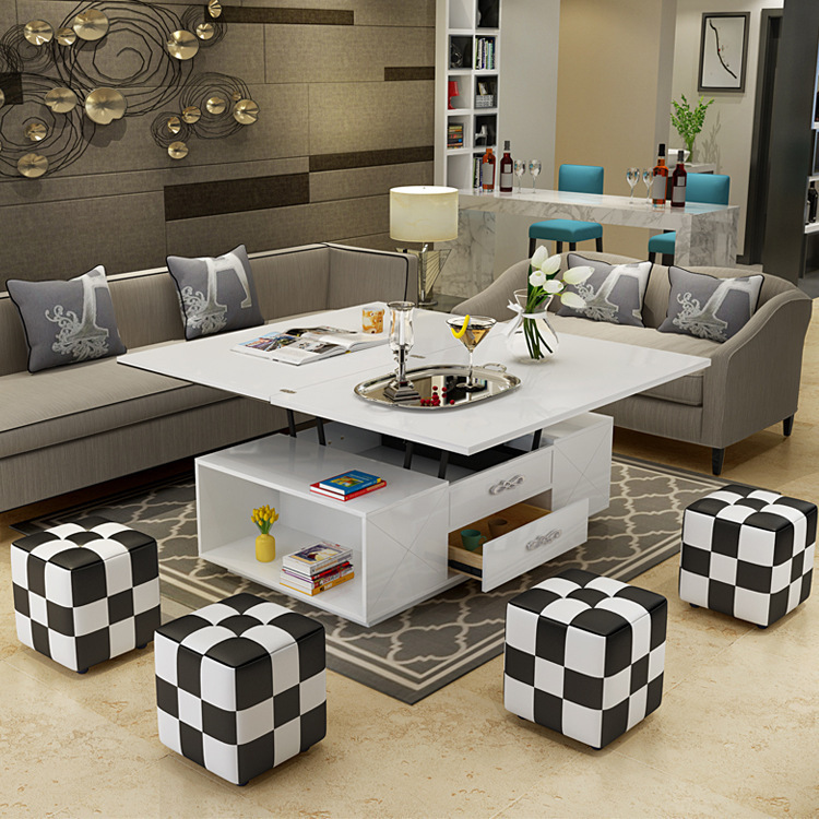Electric Multifunction Foldable Coffee Table Living Room Liftable And Lowerable Minimalist Rectangle Mesas Centro Dining Table Buy Cheap In An Online Store With Delivery Price Comparison Specifications Photos And Customer Reviews