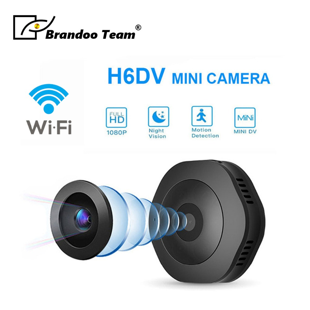 Mini Wifi Camera Cam Wearable 1080P HD H 264 Body Camera