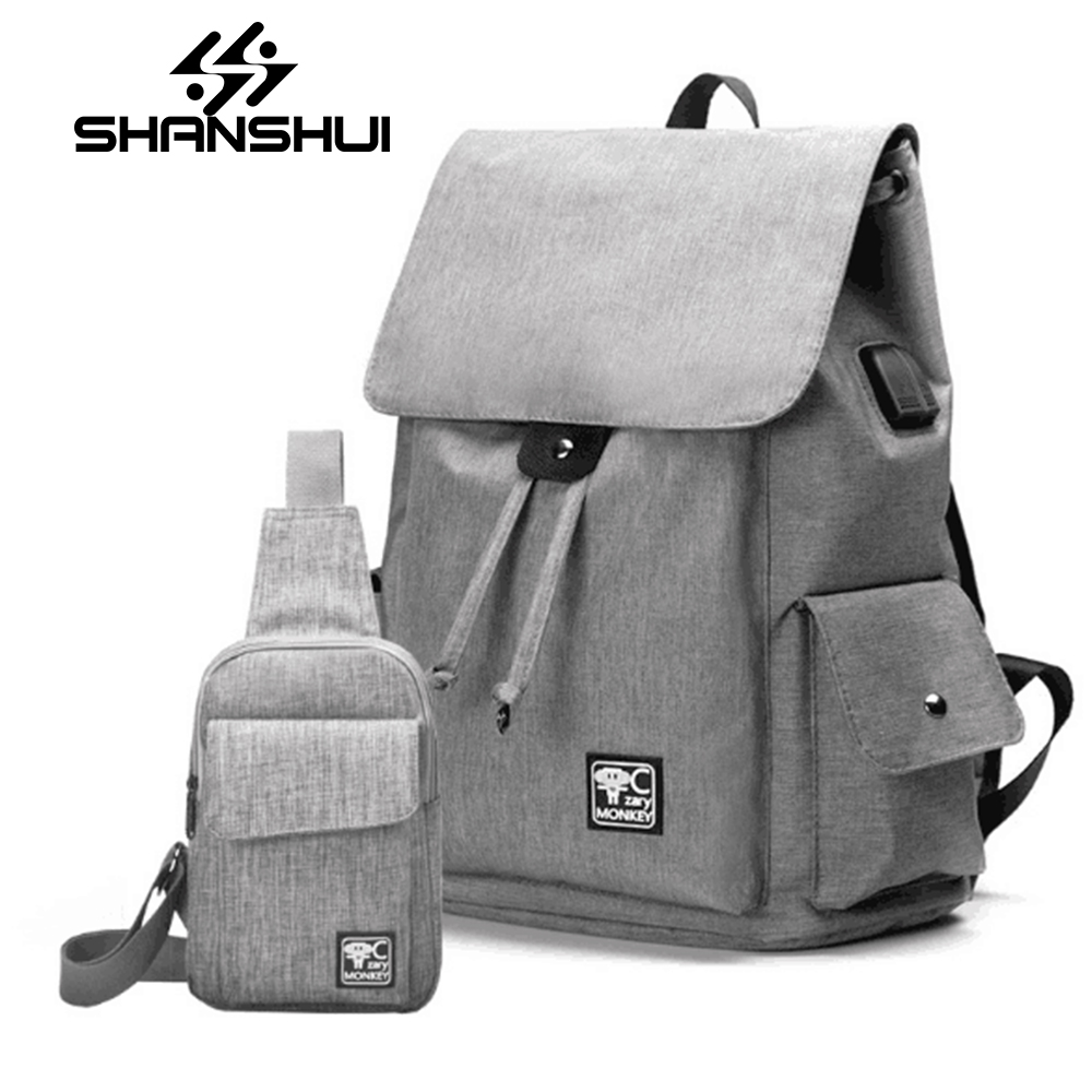 Men And Women Canvas Backpack College Student School Backpack Bags for Teenagers Vintage Mochila Casual Rucksack Travel Daypack casual men canvas laptop backpack college student school backpack for teenagers rucksack usb charge computer bag travel