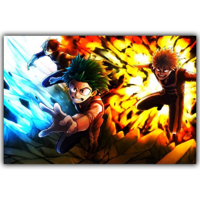 Boku no Hero Academia Silk Print Poster