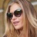 Newest Trend Retro Alloy Superstar Style Cateye Sunglasses Cosy Shades Women Brand Designer Eyewear Sunglasses Oculos_SH393