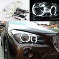 Для BMW X1 E84 2010 2011 2012 2013 2014 Галогенные Отлично CCFL Angel Eyes фар комплект Ультра яркое освещение Halo кольцо