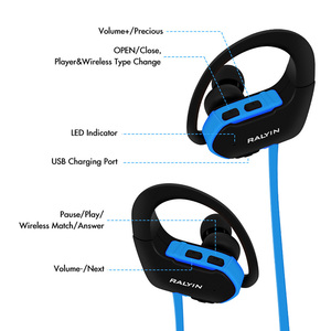 Image 5 - Ralyin المحمولة لبس MP3 مشغل موسيقى 8 جيجابايت سماعات لاعب مشغل mp3 سماعة سماعات رياضة mp3 مقاوم للماء ل شاومي