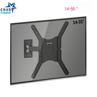 Wall Mount TV Bracket LCD Monitor Wall Mount Extension Arm Tilt For Most 25 52 LED