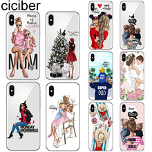 ciciber For Iphone 7 8 6 6S Plus 5S SE X XR XS MAX Soft TPU Cover for iphone 11 Pro Max Phone Case Queen Super MaMa Coque Fundas