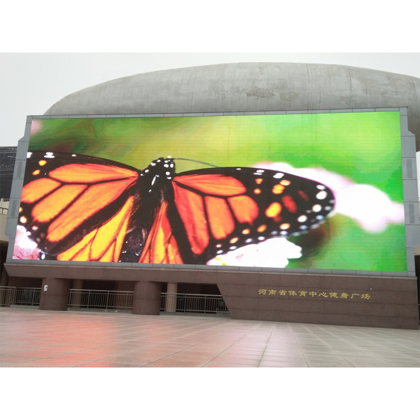 Portable Outdoor Small Pixel Pitch P6mm 576x576mm die casting aluminum waterproof cabinet Led Display Screen for Event