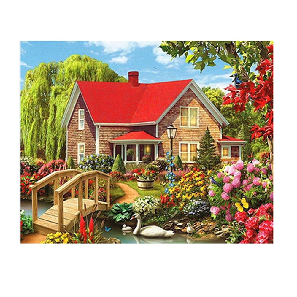 3d rhinestone painting crystal home decor diy diamond for 3d garden decoration