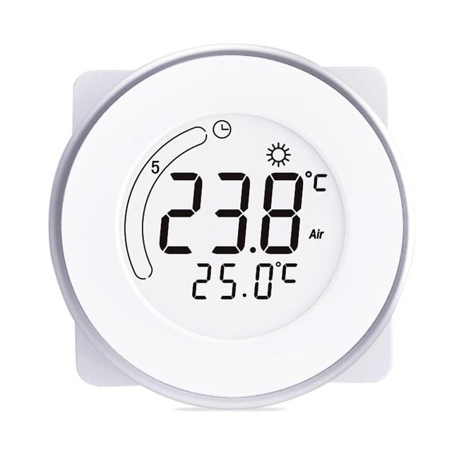 BYC18.GH3 Inteligente LCD Tela De Toque De Aquecimento Termostato Controlador de Temperatura Tempo 3 Modo Casa Quarto Controlador Termorregulador
