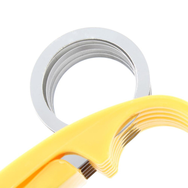 Stainless Steel banana cutter fruit Vegetable sausage Slicer Salad Sundaes tools cooking tools Kitchen Accessories gadgets